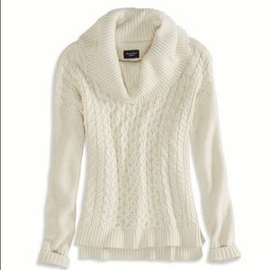 American Eagle | Cowl Neck Knit Sweater